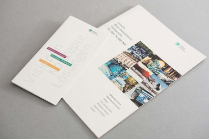 Debis Systemhaus Broschüre und Flyer