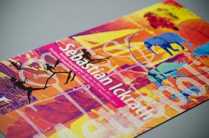 Sebastian Ickrath Ausstellung Berlin, Einladung