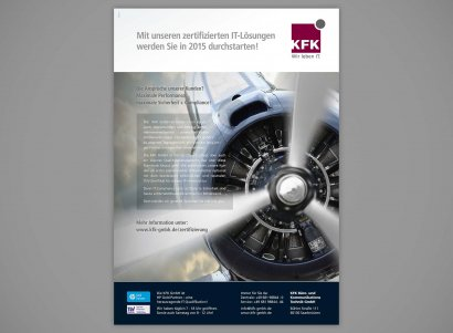 IT-Unternehmen, Anzeigenserie Image